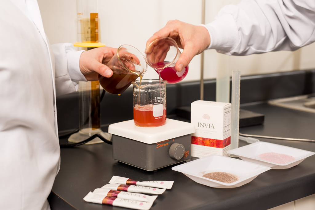 Ingredient Sourcing & Formulation   Fortress Nutrition   Blending
